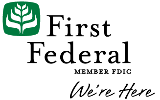 First Federal Bank Logo