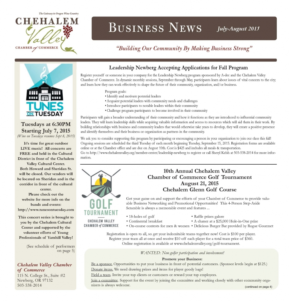 2015 July-Aug Chamber News