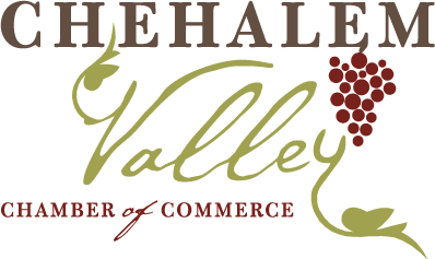 Chehalem Valley Chamber of Commerce Retina Logo